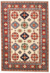 カザック 絨毯 206X301 オリエンタル 手織り 錆色/ベージュ (ウール, パキスタン)