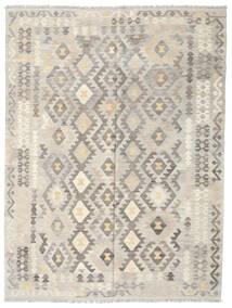 Kilim Afghan Old Style Rug 185X245 Authentic  Oriental Handwoven Light Grey/Dark Beige (Wool, Afghanistan)