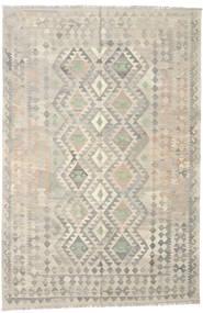 Kilim Afghan Old Style Rug 165X246 Authentic  Oriental Handwoven Light Grey/Dark Beige (Wool, Afghanistan)
