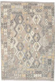 Kilim Afghan Old Style Rug 171X247 Authentic  Oriental Handwoven Light Grey/Beige (Wool, Afghanistan)
