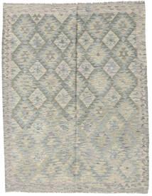Kilim Afghan Old Style Rug 154X199 Authentic  Oriental Handwoven Light Grey/Dark Grey (Wool, Afghanistan)