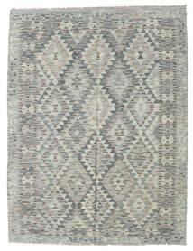 Ćilim Afghan Old Style Sag 155X200 Autentični  Orijentalni Ručno Tkani Svjetlosiva (Vuna, Afganistan)
