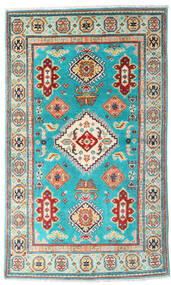 Kazak Rug 93X155 Authentic  Oriental Handknotted (Wool, Pakistan)