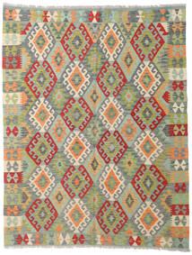 Kelim Afghan Old Style Teppich 153X194 Echter Orientalischer Handgewebter Türkisblau/Dunkelgrau (Wolle, Afghanistan)