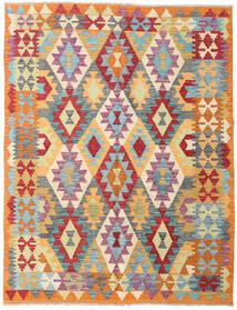 Kilim Afghan Old Style Rug 153X198 Authentic  Oriental Handwoven Dark Beige/Light Grey (Wool, Afghanistan)