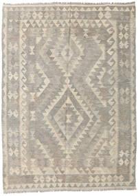 Kilim Afghan Old Style Rug 154X214 Authentic  Oriental Handwoven Light Grey (Wool, Afghanistan)
