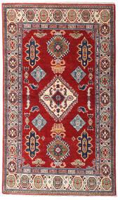 Kazak Teppe 86X149 Ekte Orientalsk Håndknyttet Mørk Rød/Mørk Lilla (Ull, Pakistan)