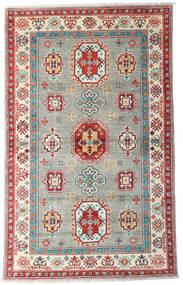 カザック 絨毯 96X155 オリエンタル 手織り 薄い灰色/ベージュ (ウール, パキスタン)