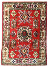 Kazak Dywan 84X124 Orientalny Tkany Ręcznie Ciemnobrązowy/Rdzawy/Czerwony (Wełna, Pakistan)