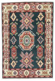 カザック 絨毯 81X121 オリエンタル 手織り 濃いグレー/薄茶色 (ウール, パキスタン)