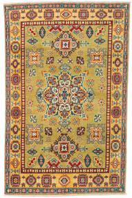Kazak Tapis 119X185 D'orient Fait Main Rouge Foncé/Marron Clair (Laine, Pakistan)