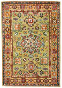 Kazak Tapis 121X177 D'orient Fait Main Marron Clair/Beige Foncé (Laine, Pakistan)