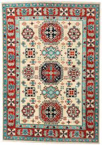 Kazak Sag 148X215 Autentični  Orijentalni Ručno Uzlan Bež/Tamnosiva (Vuna, Pakistan)