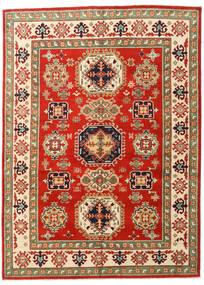 Kazak Teppe 148X203 Ekte Orientalsk Håndknyttet Rust/Olivengrønn (Ull, Pakistan)