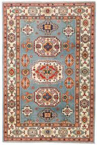 Kazak Alfombra 122X185 Oriental Hecha A Mano Marrón/Beige (Lana, Pakistán)