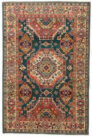 Kazak Tapis 119X183 D'orient Fait Main Gris Foncé/Rouge (Laine, Pakistan)