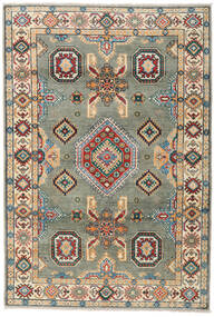 Kazak Rug 122X179 Authentic  Oriental Handknotted Dark Grey/Light Grey (Wool, Pakistan)