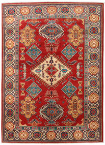 Kazak Rug 151X210 Authentic Oriental Handknotted Dark Red/Rust Red (Wool, Pakistan)