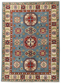 カザック 絨毯 153X211 オリエンタル 手織り 深紅色の/濃いグレー (ウール, パキスタン)