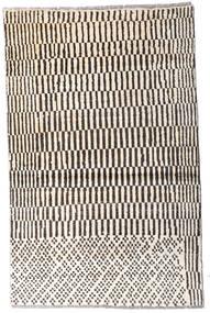 Moroccan Berber - Afghanistan Dywan 92X145 Nowoczesny Tkany Ręcznie Beżowy/Ciemnobrązowy (Wełna, Afganistan)