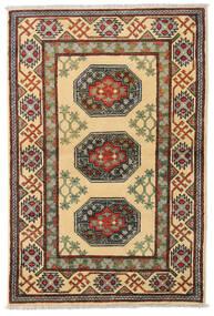 アフガン 絨毯 97X147 オリエンタル 手織り 濃いグレー/暗めのベージュ色の (ウール, アフガニスタン)