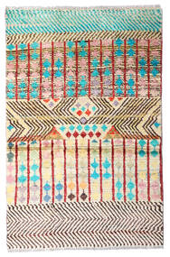 Moroccan Berber - Afghanistan 絨毯 79X124 モダン 手織り ベージュ/薄茶色 (ウール, アフガニスタン)