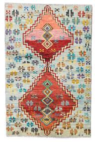 Moroccan Berber - Afghanistan Dywan 89X137 Nowoczesny Tkany Ręcznie Ciemnobeżowy/Czerwony (Wełna, Afganistan)