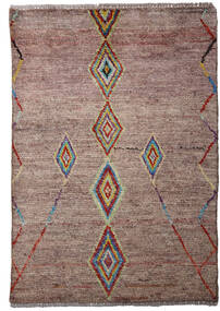Moroccan Berber - Afghanistan Rug 80X115 Authentic  Modern Handknotted Pink/Light Grey (Wool, Afghanistan)