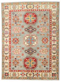 カザック 絨毯 151X202 オリエンタル 手織り 暗めのベージュ色の/薄い灰色 (ウール, パキスタン)