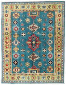 カザック 絨毯 155X203 オリエンタル 手織り ターコイズ/暗めのベージュ色の (ウール, パキスタン)
