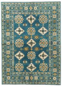 カザック 絨毯 169X238 オリエンタル 手織り ターコイズ/紺色の (ウール, パキスタン)