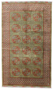 アフガン 絨毯 196X330 オリエンタル 手織り 薄い灰色/オリーブ色 (ウール, アフガニスタン)