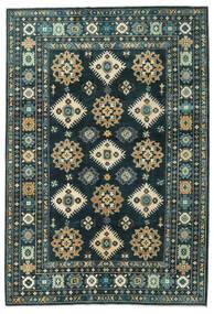 カザック 絨毯 203X298 オリエンタル 手織り 紺色の/ターコイズ (ウール, パキスタン)