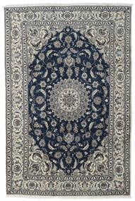 Nain Matta 197X296 Äkta Orientalisk Handknuten Mörkgrå/Ljusgrå/Mörkblå (Ull, Persien/Iran)
