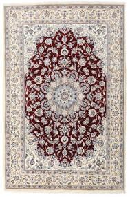 Nain Teppe 198X305 Ekte Orientalsk Håndknyttet Lys Grå/Beige (Ull, Persia/Iran)