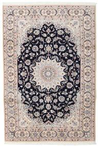 Nain Matta 200X300 Äkta Orientalisk Handknuten Ljusgrå/Beige (Ull, Persien/Iran)