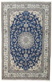Nain Matta 200X310 Äkta Orientalisk Handknuten Mörkgrå/Mörkblå (Ull, Persien/Iran)