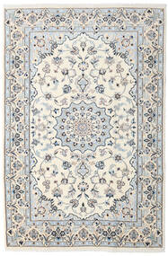 Nain Teppe 192X290 Ekte Orientalsk Håndknyttet Beige/Lys Grå (Ull, Persia/Iran)