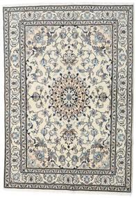 Naïn Tapis 167X232 D'orient Fait Main Beige/Gris Clair (Laine, Perse/Iran)