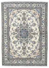 Nain Teppich  169X236 Echter Orientalischer Handgeknüpfter Beige/Hellgrau (Wolle, Persien/Iran)
