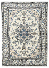 Nain Teppe 169X236 Ekte Orientalsk Håndknyttet Beige/Lys Grå (Ull, Persia/Iran)