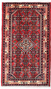 Asadabad Rug 61X104 Authentic  Oriental Handknotted (Wool, Persia/Iran)