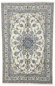 Nain Teppe 164X256 Ekte Orientalsk Håndknyttet Beige/Mørk Grå/Lys Grå (Ull, Persia/Iran)