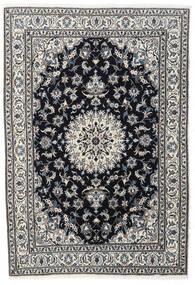 Nain Matta 167X243 Äkta Orientalisk Handknuten Svart/Mörkgrå (Ull, Persien/Iran)