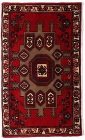 Asadabad Covor 64X108 Orientale Lucrat Manual Maro Închis/Roșu-Închis (Lână, Persia/Iran)
