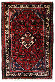 Turkaman Matta 66X83 Äkta Orientalisk Handknuten Mörkbrun/Mörkröd (Ull, Persien/Iran)