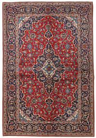 Kashan Covor 138X204 Orientale Lucrat Manual (Lână, Persia/Iran)