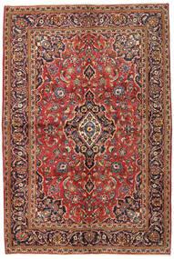 サルーク Sherkat Farsh 絨毯 134X215 オリエンタル 手織り 濃い茶色/深紅色の (ウール, ペルシャ/イラン)