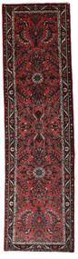 Hamadan Alfombra 77X280 Oriental Hecha A Mano Rojo Oscuro/Marrón Oscuro (Lana, Persia/Irán)