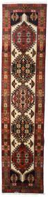 Ardabil Alfombra 66X288 Oriental Hecha A Mano Marrón Oscuro/Rojo Oscuro (Lana, Persia/Irán)